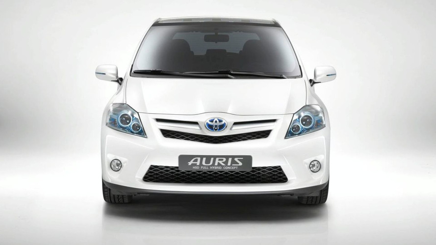 Toyota Auris HSD Full Hybrid Concept - Set for Frankfurt World Premiere
