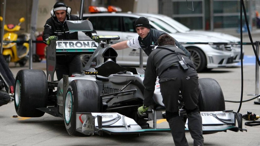 Mercedes 'not dropping' 2010 car - Brawn