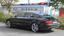 Audi S7 spied completely undisguised
