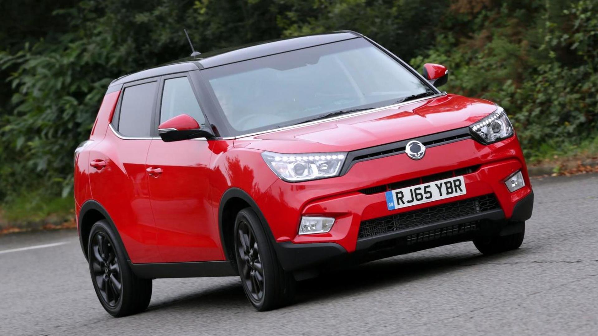 Ssangyong planning U.S. sales of Tivoli and Korando SUVs by 2020