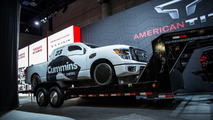 Nissan Titan XD Triple Nickel unveiled, will attempt to set a new land speed record