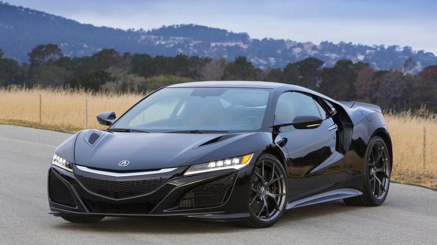 Acura NSX replaces Viper as most expensive car built in the U.S.