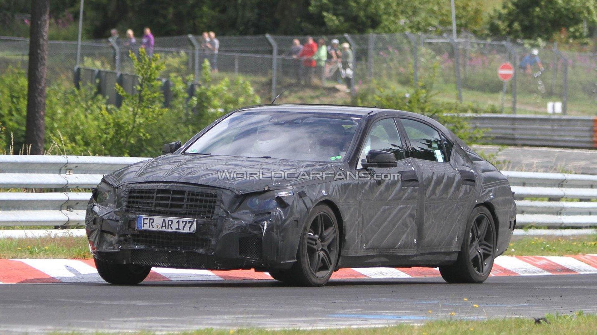 2013 Mercedes-Benz S63 AMG spied for the first time on the Nürburgring
