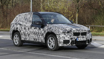 Second generation BMW X1 drops some camo in latest spy shots