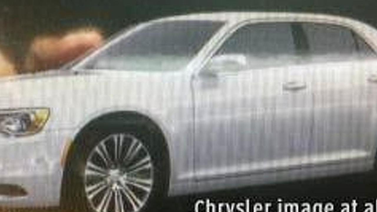 2015 Chrysler 300 leaked image