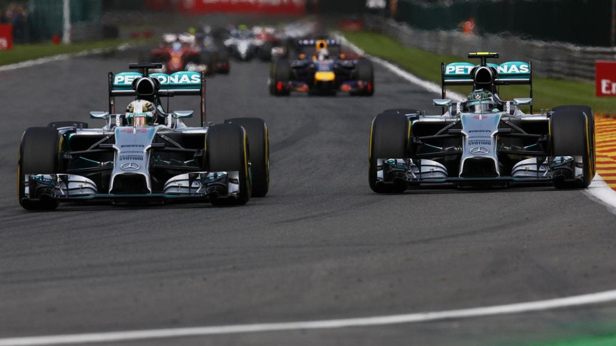 Bosses slam 'unacceptable' Rosberg after Hamilton clash