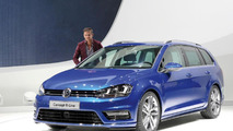 Volkswagen Golf Estate R-Line concept line in Geneva 05.3.2013