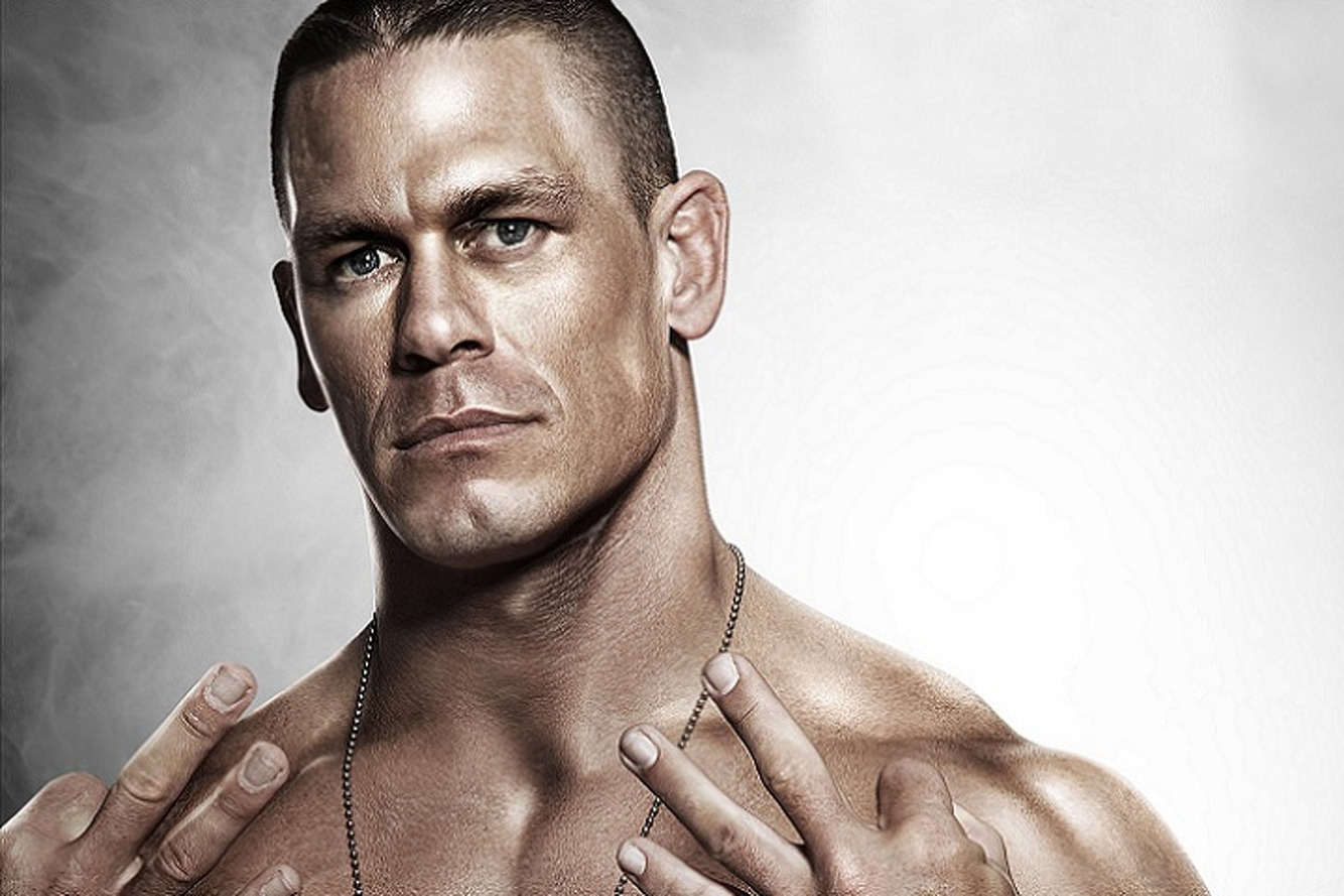 John Cena is a Muscle Car Muscle Man
