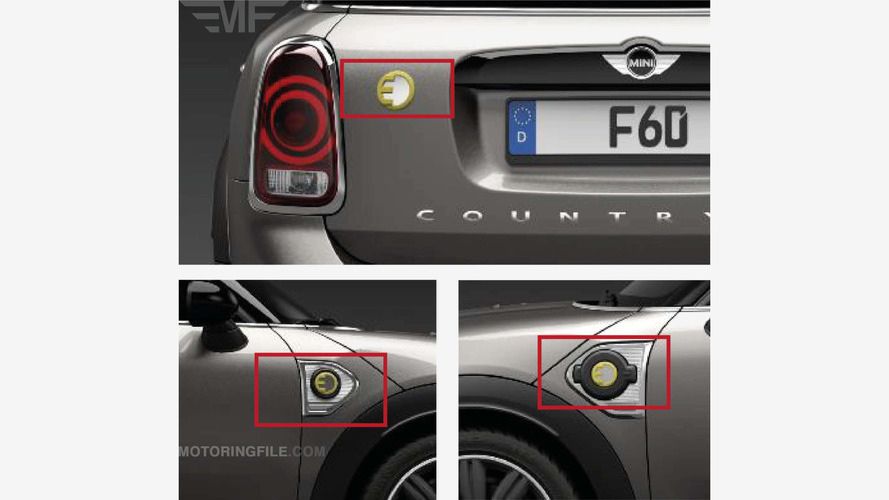 Mini Countryman E PHEV leaked