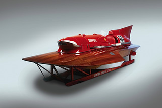 This is THE Ferrari of Powerboats