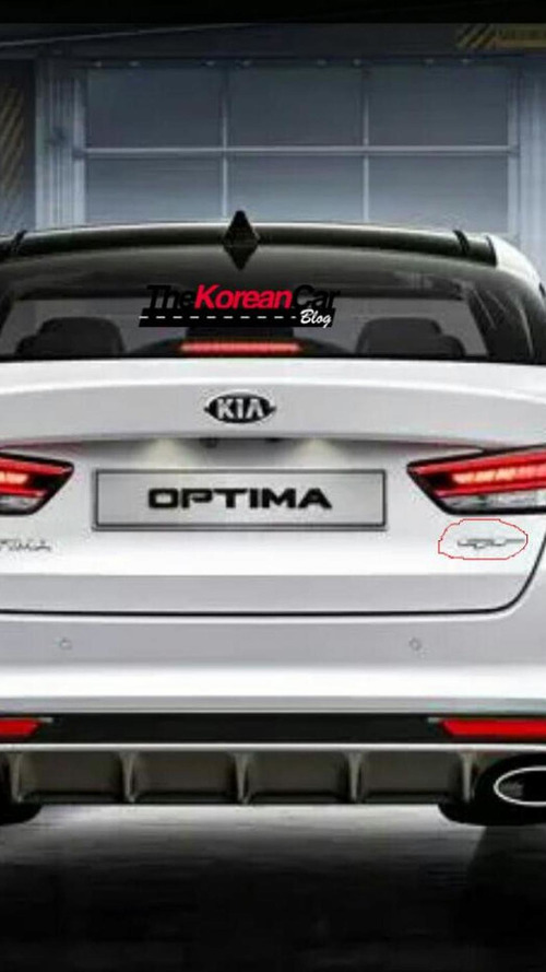 Kia Optima GT first images emerge, likely Euro-spec model