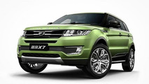 Landwind publishes photo gallery with its controversial Range Rover Evoque clone