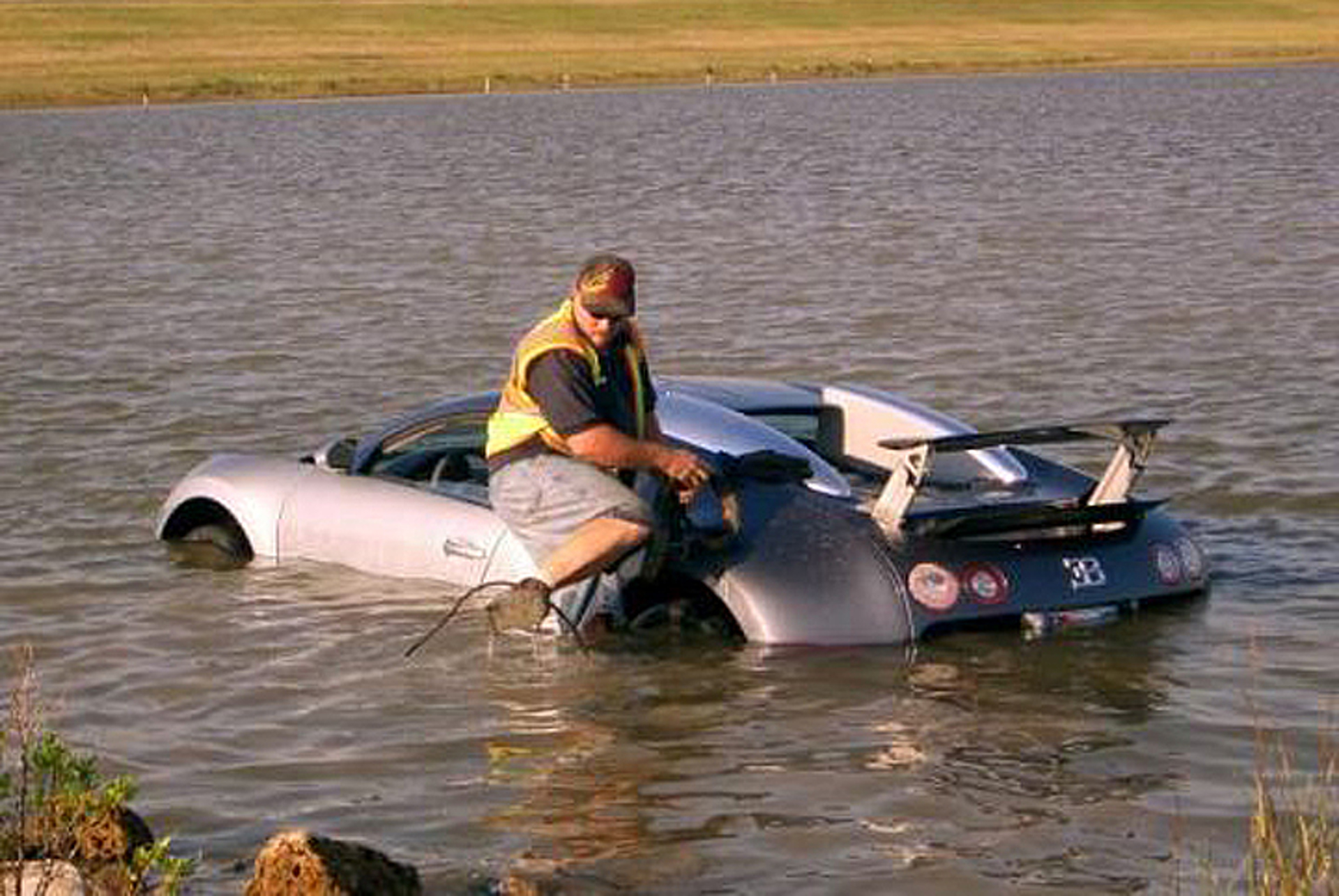 Guy That Drowned his Bugatti Going to Prison [w/Video]