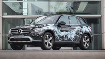 Mercedes GLC F-CELL plug-in hydrogen prototype revealed