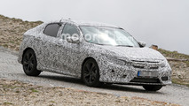 2017 Honda Civic Hatchback Spy Photos in Alps