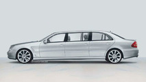 Stretched Mercedes-Benz E-Class by Lorinser