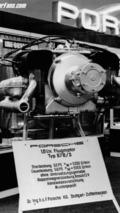 52HP aircraft engine Type 678/3 1959