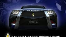 Carbon Motors Unveils World's First Purpose-Built Law Enforcement Vehicle