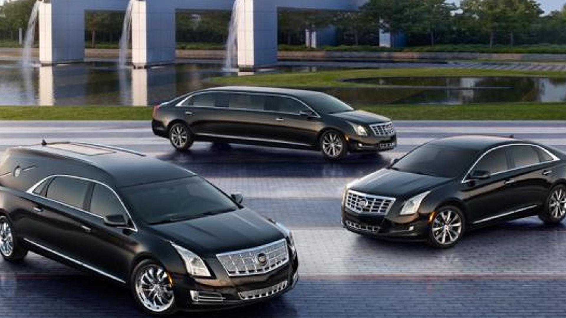 Cadillac XTS Limo & Hearse revealed