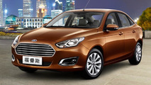2014 Ford Escort production version