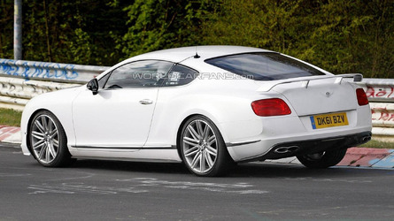 Bentley Continental GT high-performance version