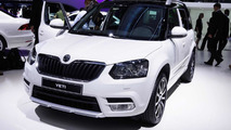 Facelifted Skoda Yeti lands in Frankfurt