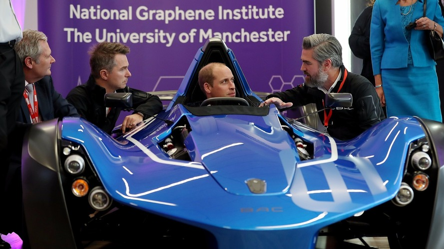 BAC Mono impresses Prince William and Princess Kate