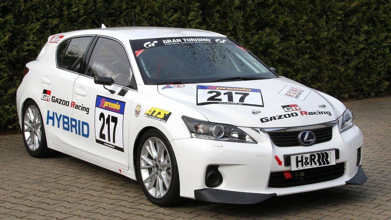 Gazoo Racing Lexus CT for VLN Nurburgring race 13.05.2011