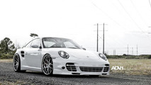Porsche 911 Turbo with ADV.1 wheels, 1024, 23.12.2011