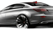 Roewe N1 Concept set for Shanghai Unveiling