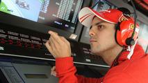 Friday spectating 'not easy' - Massa