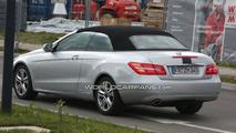 Mercedes E-Class Cabrio Shows its Rear