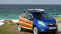 Chevrolet unveils Spark Woody Wagon art car