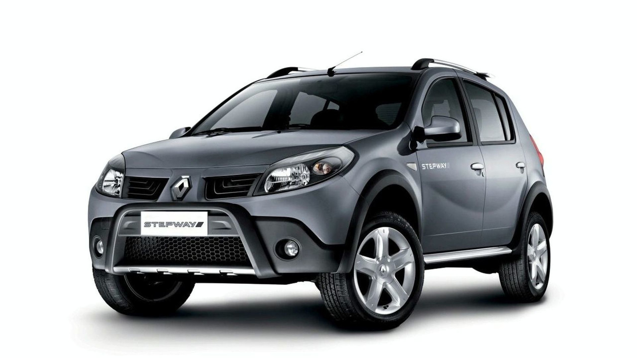 official renault dacia sandero suv revealed. Black Bedroom Furniture Sets. Home Design Ideas