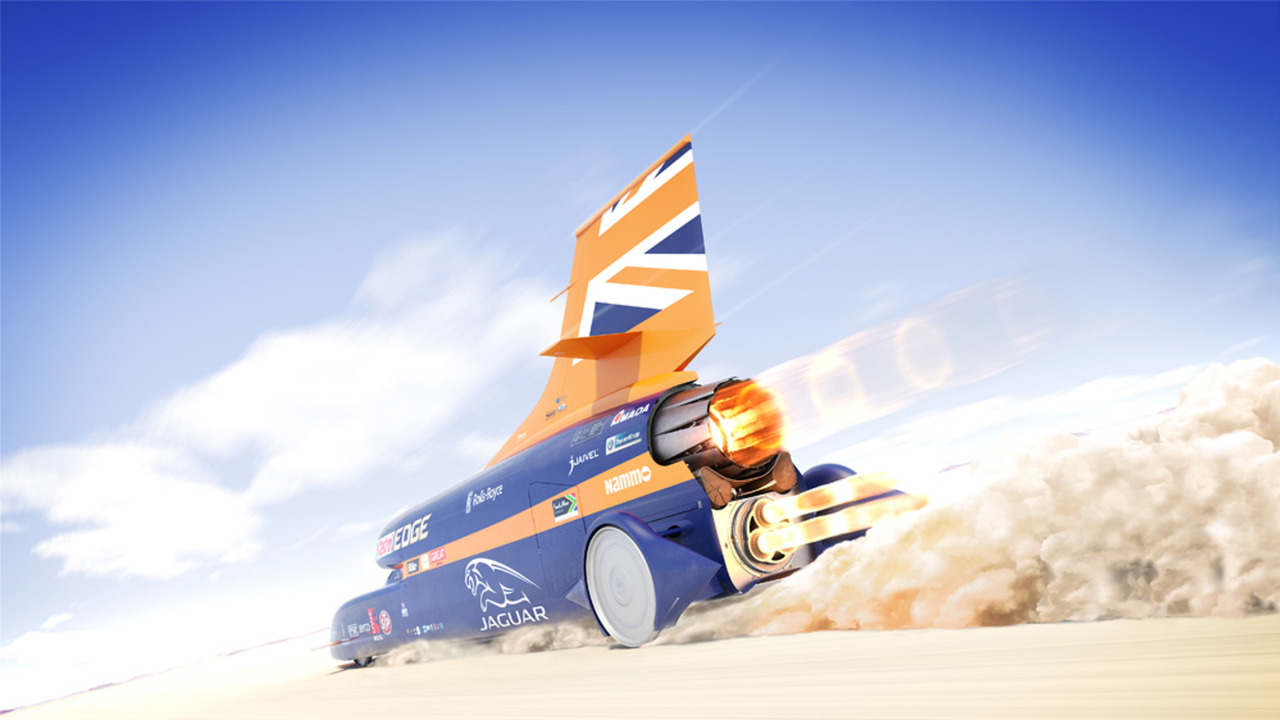 Bloodhound SSC set of 800mph record attempt