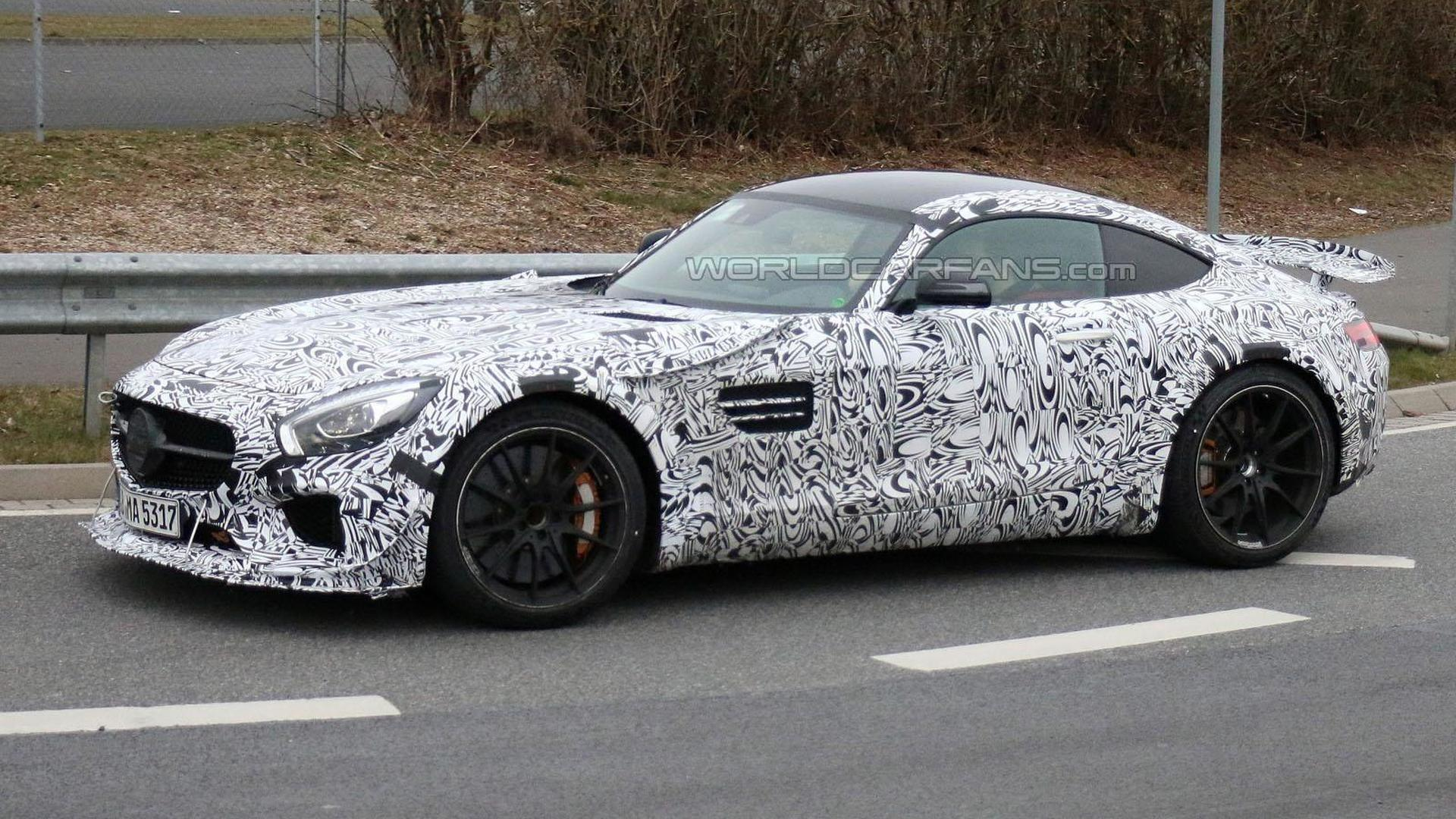 High-performance Mercedes-AMG GT spied, could be a road-going version of the GT3