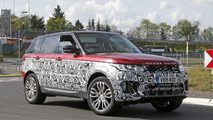 2017 Land Rover Range Rover Sport facelift spy photo