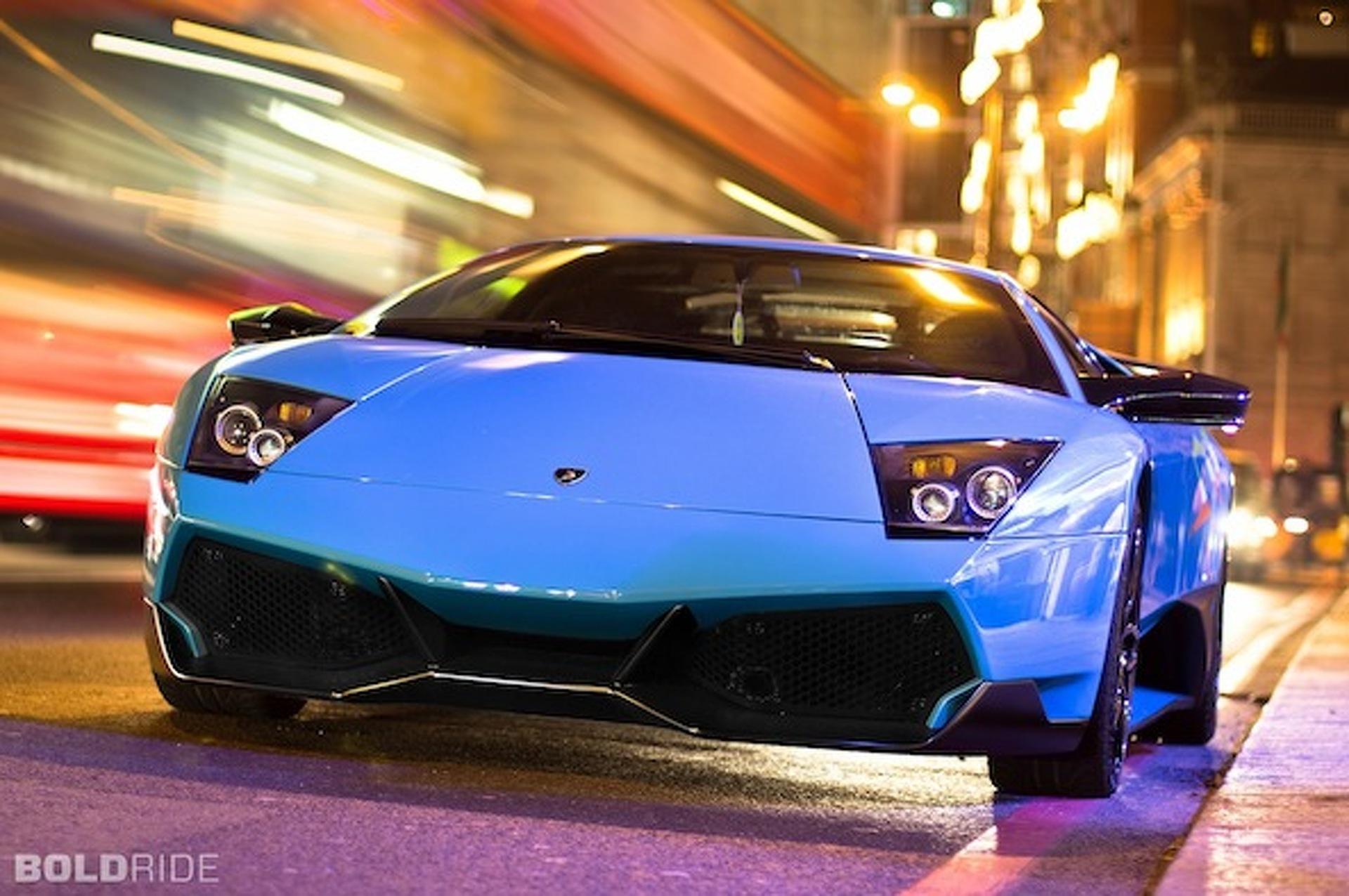 Wheels Wallpaper: Lamborghini Murcielago SV