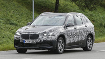 BMW X1 seven-seater spied showing new details