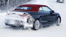 Audi S3 Cabrio spy photo