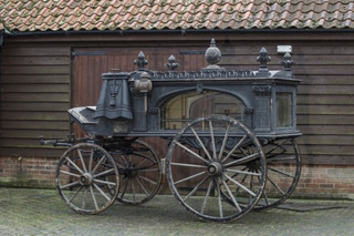 This Classic Horse-Drawn Hearse is Spectacularly Spooky And Headed for Auction