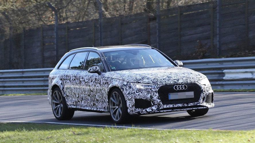 2017 Audi RS4 Avant goes all out at the Nürburgring