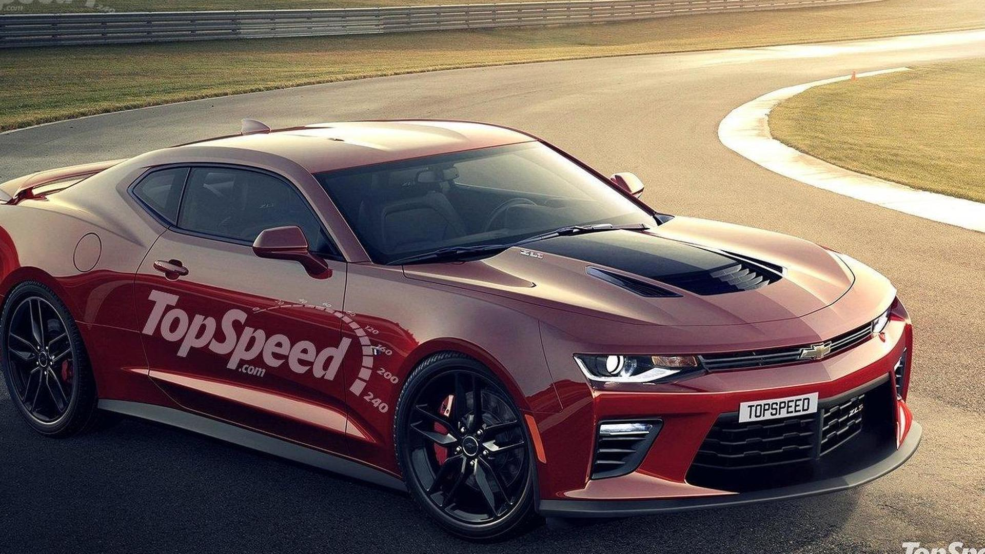 Chevrolet Camaro ZL1 gets rendered
