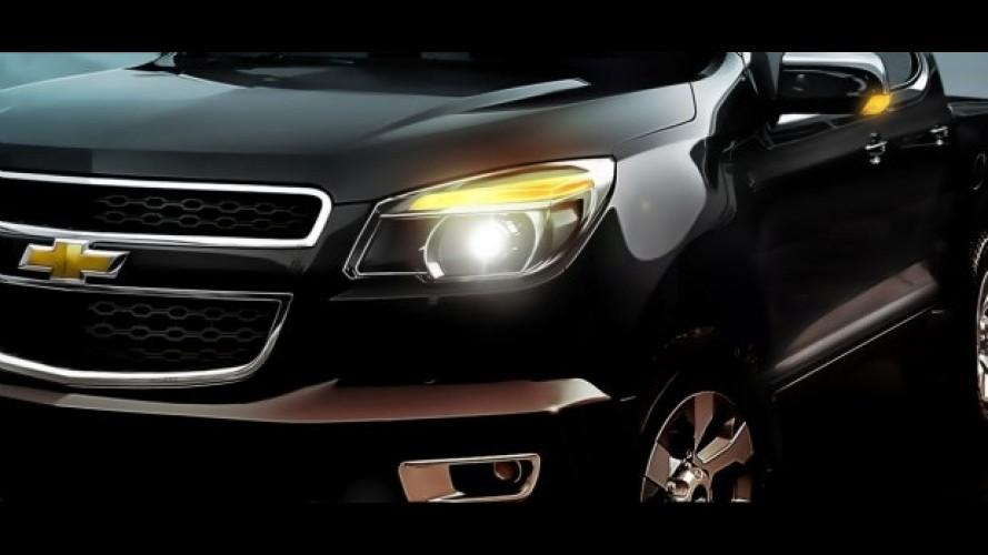 GM divulga primeira imagem oficial da Nova S10