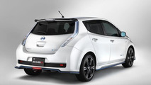 Nissan Leaf with Nismo accessories 25.6.2013