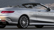 New Mercedes-Benz S-Class Cabriolet renderings