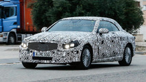 Mercedes-Benz C-Class Cabriolet spied near the Nurburgring