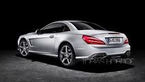2016 Mercedes-Benz SL facelift render
