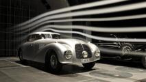Mercedes highlights their 1938 540 K Streamliner