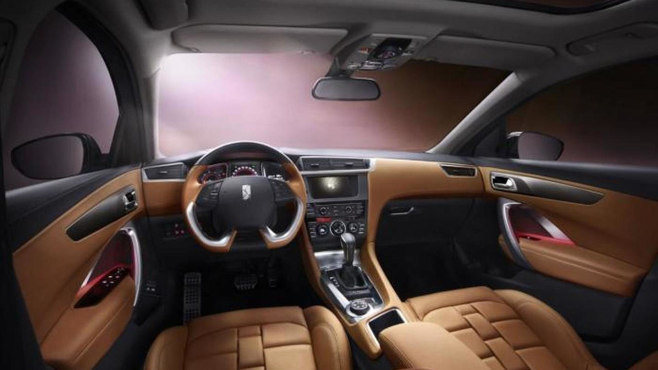 Citroen DS 6WR interior